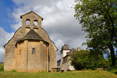 Saint-Come d'Olt chapel Royalty Free Stock Photography