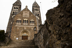 Saint Cosmas and Damian Church - Clervaux - Luxembourg Royalty Free Stock Images