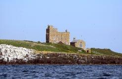 Saint Cuthbert Chapel, Farne Islands, England. Saint Cuthbert Chapel in Farne Islands, England Stock Photos