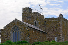 Saint Cuthbert Chapel, Farne Islands, England Royalty Free Stock Photography