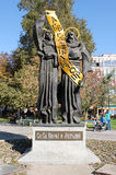 Saint Cyril and Methodius Monument Stock Images