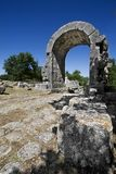 Saint Damian's Arch - Carsulae (IT) Stock Photo