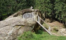 Saint Daniil o eremitério dos eremitas fotos de stock royalty free