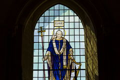 Free Saint David On Stained Glass Window In Chichester Cathedral Stock Images - 82290824