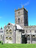 Saint David's Cathedral Stock Images