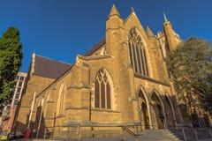 Hobart Cathedral. Saint Davids Cathedral in Hobart City, Tasmania, Australia Royalty Free Stock Images