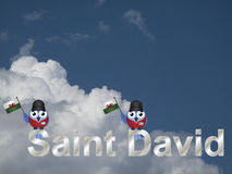 Saint David Royalty Free Stock Image