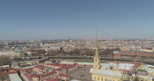 saint de Paul peter Pétersbourg de forteresse banque de vidéos