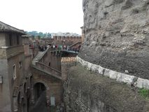 saint& x27 de Rome ; château de s Angelo photographie stock libre de droits
