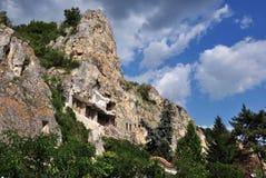 Saint Demetrius de monastère de roche photo stock