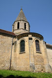 Saint Denis church of Brueil en Vexin Stock Images