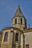 Saint Denis church of Brueil en Vexin Stock Image