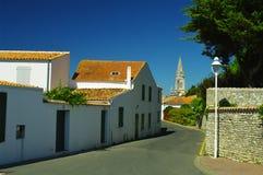 Saint denis d oleron. On the atlantic coast in france royalty free stock image