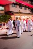 Saint Devota Celebrations in Monaco – 2015 Royalty Free Stock Photography