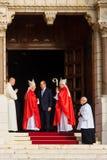 Saint Devota Celebrations in Monaco – 2015 Stock Images
