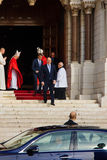 Saint Devota Celebrations in Monaco – 2015 Royalty Free Stock Image