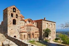 Saint Dimitrios in Mystras, Greece Royalty Free Stock Image