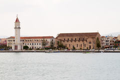 Saint Dionisios Church, Zakinthos Royalty Free Stock Images