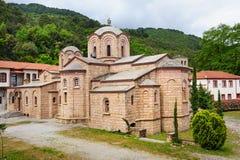 The Saint Dionysios Monastery, Greece Royalty Free Stock Photography