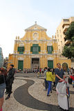 Saint Dominic church, Macau Stock Photo