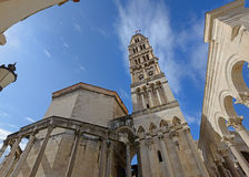 Saint Dominus cathedral in Split Stock Photography