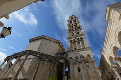 Saint Dominus cathedral in Split Stock Photo