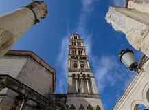 Saint Domnius Cathedral - Split Royalty Free Stock Images