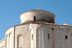Saint Donat church. In Zadar, Croatia Stock Image