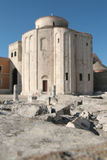 Saint Donat church. Building of the saint donat church in Zadar, croatia Royalty Free Stock Photo