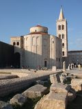 Saint Donat Church in Zadar Royalty Free Stock Photo