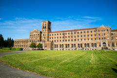 Saint Edward Seminary, view from lawn. Saint Edward Roman Catholic Seminary, Kenmore Washington Royalty Free Stock Image