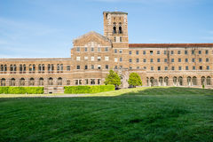 Saint Edward Seminary, view from over the hill Royalty Free Stock Photos