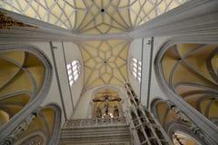 Saint Elisabeth Cathedral interior view Stock Image