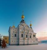 Saint Elizabeth church in Dmitrov, Moscow region, Russia Stock Photography
