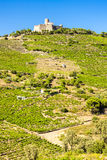 Saint Elme fortress. In Languedoc-Roussillon, France Stock Photo