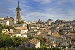 Saint Emilion. Rooftops of Saint Emilion in Bordeaux - A Unesco World Heritage Site royalty free stock images