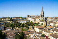 Saint Emilion, Bordeaux, France Stock Photos