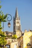 Saint-Emilion, Bordeaux, Francie. Eu europe european union france unesco western architecture building cities city exterior historic historical history house stock images