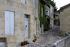Saint-Emilion, France Stock Photos