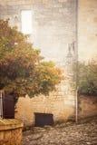 Saint-Emilion in mist Stock Images