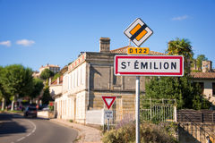 Saint Emilion near Bordeaux, France Royalty Free Stock Image
