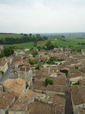 Saint Emilion old medieval buildings, France Royalty Free Stock Image