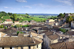 Saint-Emilion village Royalty Free Stock Photography