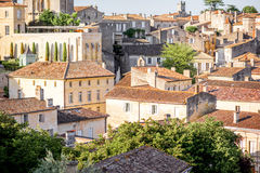 Saint Emilion village Royalty Free Stock Photography