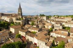 Saint Emilion village Stock Photos