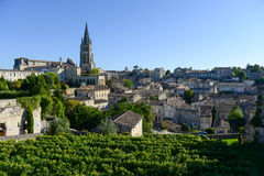 Saint-Emilion-Vineyard landscape-France, Stock Images