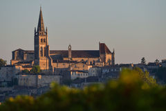 Saint-Emilion-Vineyard landscape-French Vineyard Royalty Free Stock Image