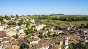 Saint Emilion and the vineyard, near Bordeaux, France Royalty Free Stock Image