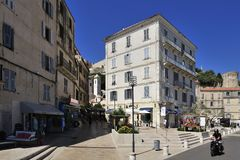 Bonifacio, Corse, France royalty free stock photography