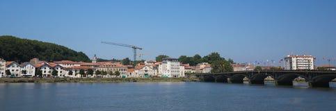Saint Esprit Bridge in Bayonne, France Stock Image